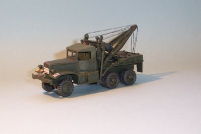 bw237.  diamond t969 4 ton, wrecker (open cab)  -  17.50